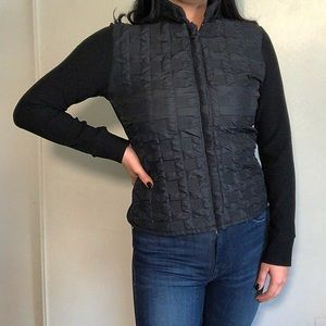 Vintage Rayure Paris Quilted Nylon Jacket
